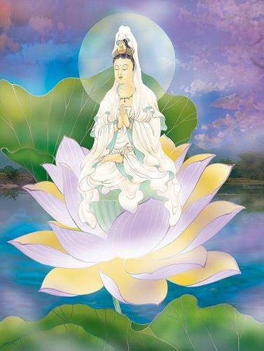 Tranh Sơn Dầu Phật Bà