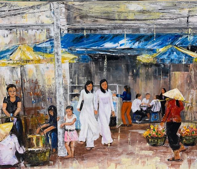 Tranh Sơn Dầu VN